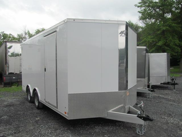 2020 Aluminum Trailer Company 8.5 X 16 Wedge Front Raven Car Hauler