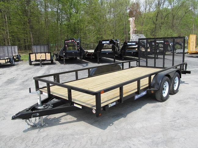 Sure-Trac Tube Top Utility Double Axle
