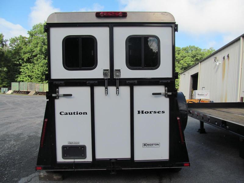 2010 Kingston Windsor 2 Horse Trailer