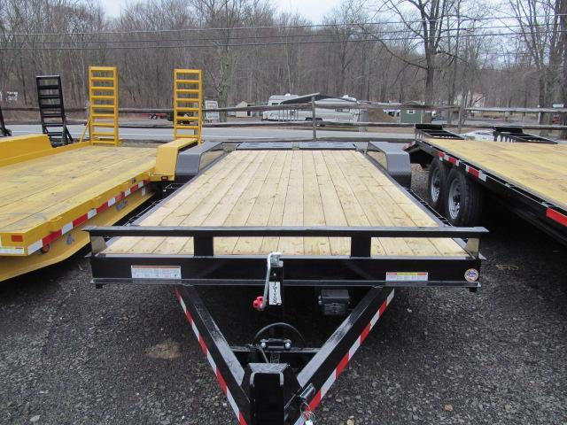 Sure-Trac Universal Implement Trailer w/ Fold Flat Ramps Equipment Trailer