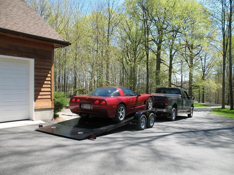 Kwik Load Sliding Load Car / Racing Trailer