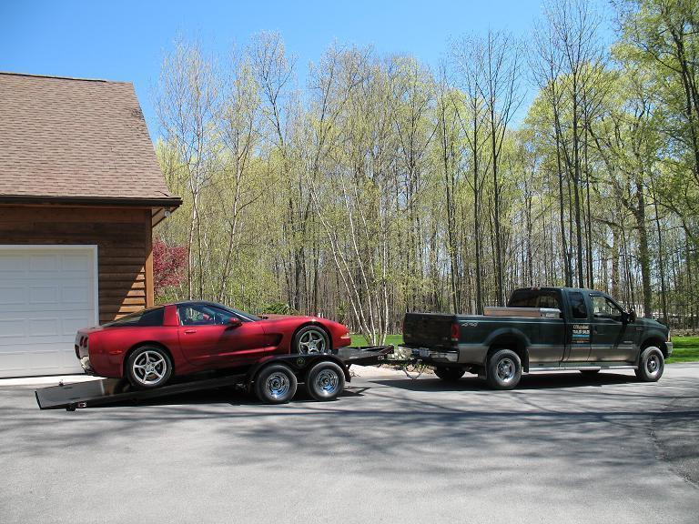 Kwik Load Sliding Load Car / Racing Trailer