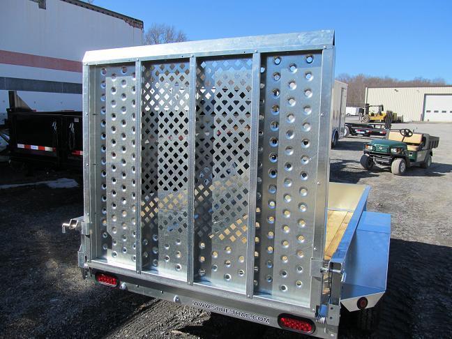 Sure-Trac Galvanized Utility Trailer