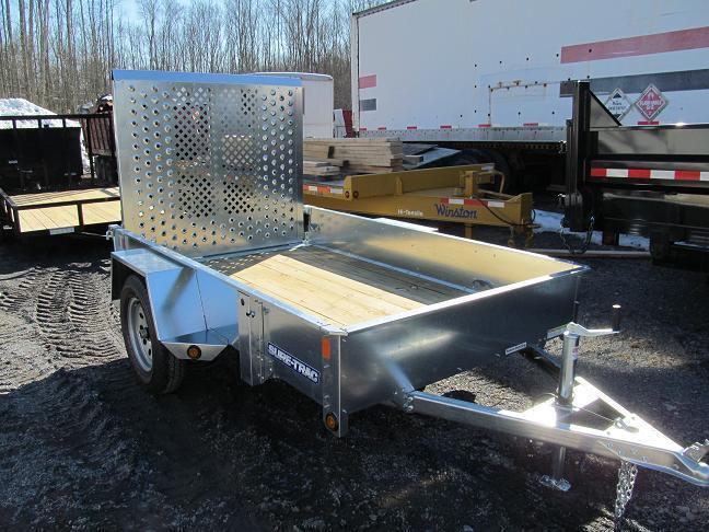 Sure-Trac Galvanized Utility Trailer
