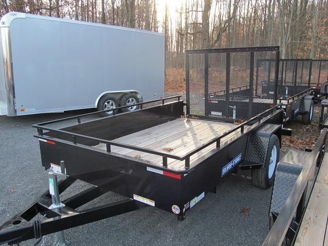 Sure-Trac 7 X 12 Steel High Side Utility Trailer