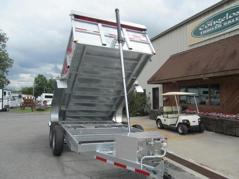 2018 N and N HD Series Galvanized Dump Trailer