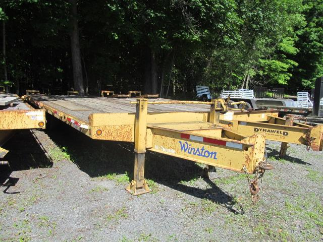 2008 Winston 10 Ton Equipment Trailer