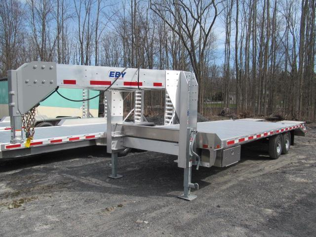 2018 Eby 15900 GVW Flatbed GN Equipment Trailer