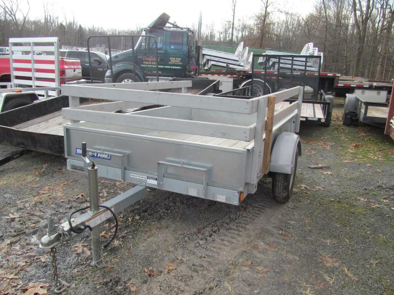 2013 Sure-Trac Galvanized Homeowner Tilt Utility Trailer