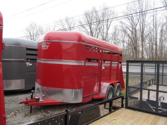 2019 Valley 2H Stock Slant Combo Horse Trailer