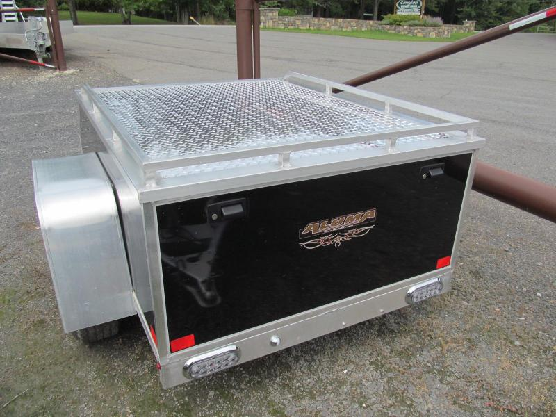 2019 Aluma AE46 All Purpose Enclosed Trailer Enclosed Cargo Trailer