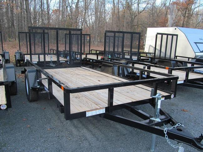 Sure-Trac 5 X 10 Tube Top Utility Trailer