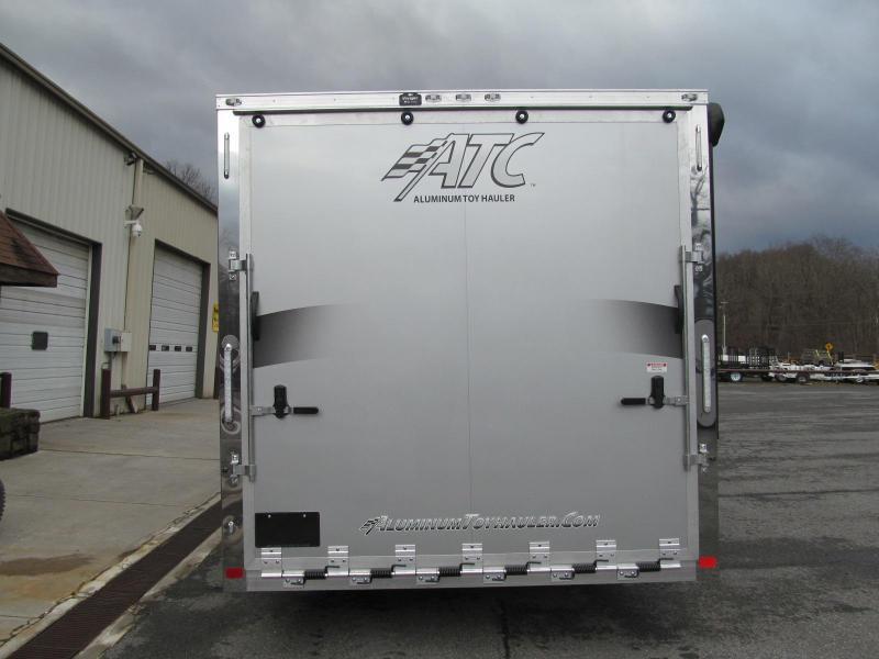 2020 Aluminum Trailer Company 8.5 X 20 Toy Hauler