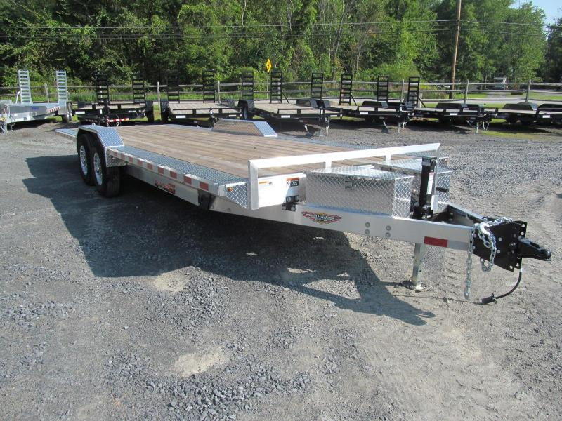 2019 H and H Aluminum Speedloader 102 X 24 Equipment Trailer