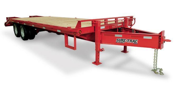 Sure-Trac Deckover Equipment Trailers