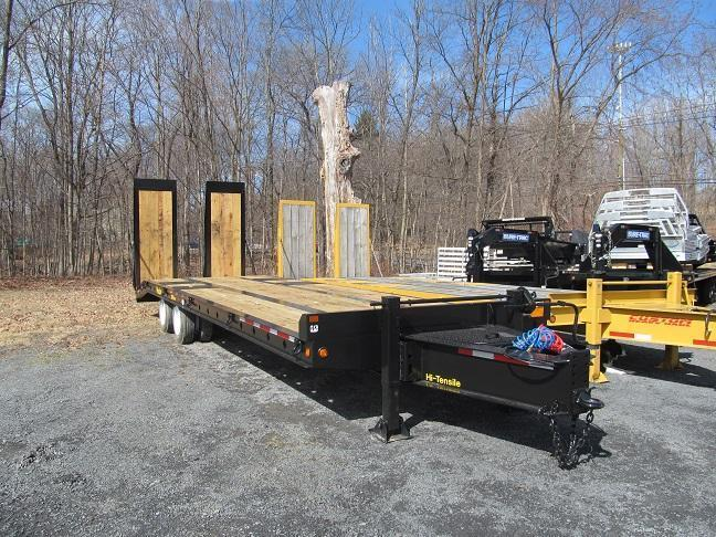 Winston 20 Ton Paver w/ 8 Hydraulic Ramps Equipment Trailer