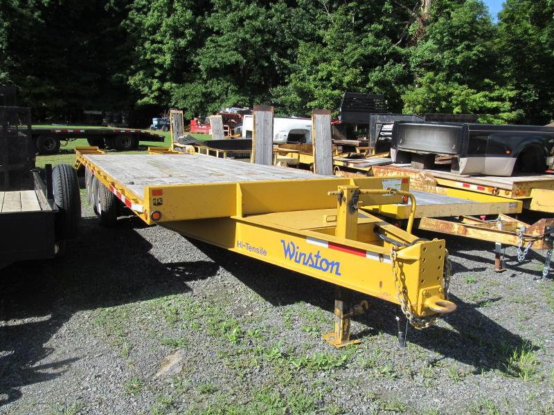 2016 Winston 9 Ton Deckover Equipment Trailer