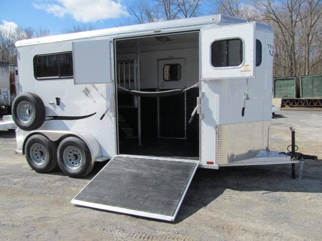 2018 Trailers USA Patriot 2H BP w/ DR and Side Ramp