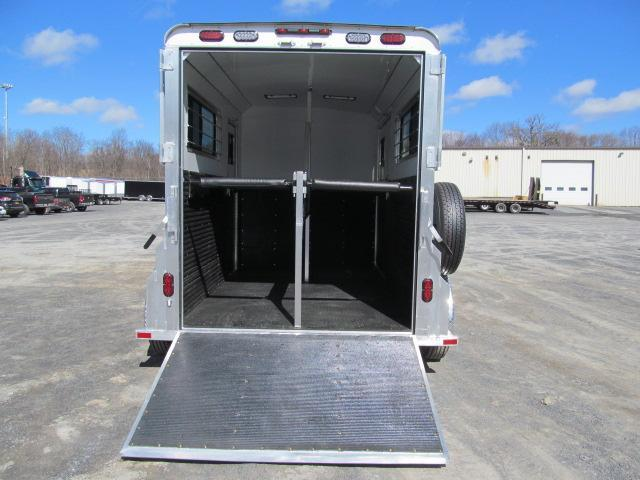 2019 Trailers USA Patriot 2H BP w/ DR and Side Ramp