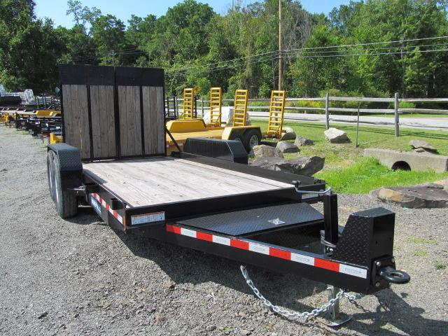 Sure-Trac Skid Steer / Roller Trailer Equipment Trailer