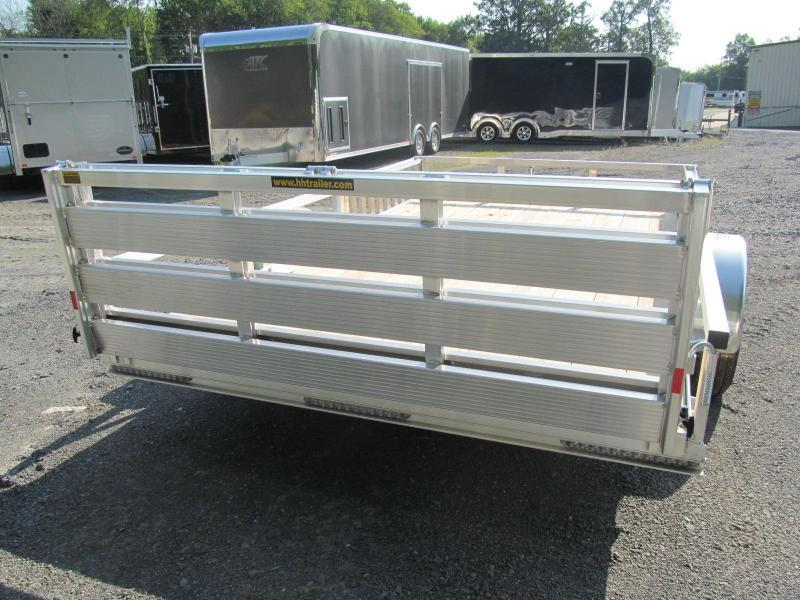 2019 H and H Trailer 7 X 12 Utility Trailer