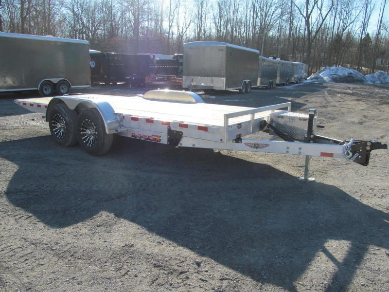 2019 H and H Aluminum Speedloader 80 X 24 Equipment Trailer