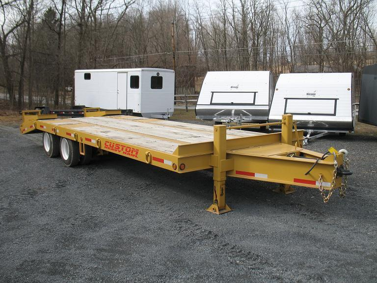 Custom Heavy Haul 20 Ton Equipment Trailers