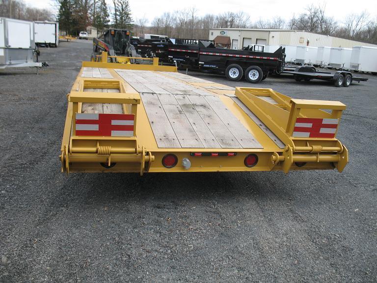Custom Heavy Haul 20 Ton Equipment Trailers