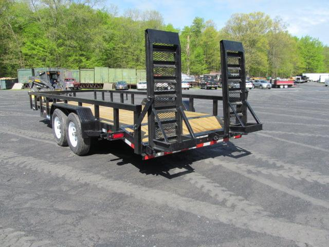2019 Sure-Trac 7 X 20 7 Ton HD Implement Equiptment Trailer