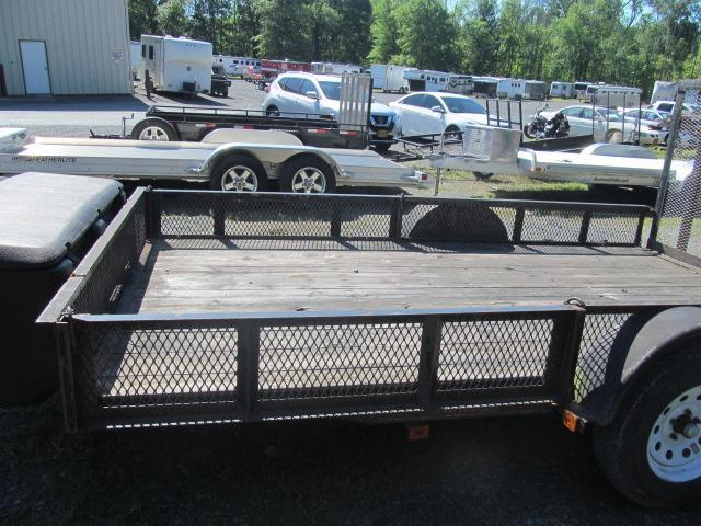 2009 Carry-On 6.5 X 12 Open ATV Utility Trailer