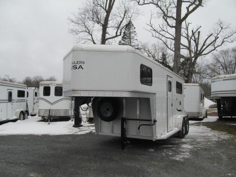 2019 Trailers USA Patriot 2H GN w/ Dressing Room
