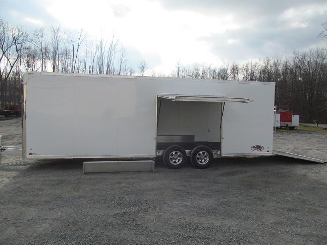 2018 Aluminum Trailer Company 8.5 X 24 Raven CH Plus w/ Premium Escape Door