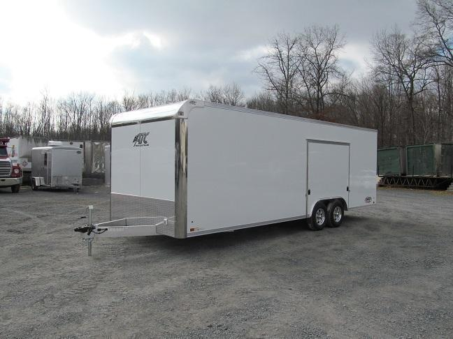 2018 Aluminum Trailer Company 8.5 X 24 Raven CH Plus w/ Premium Escape Door