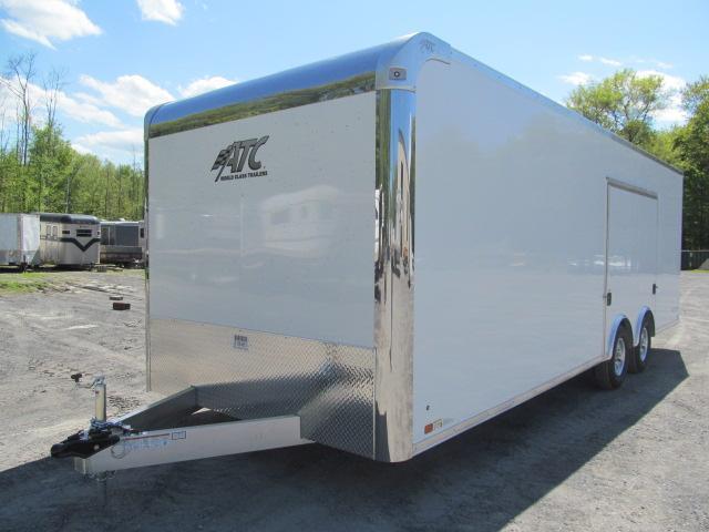 2020 Aluminum Trailer Company 8.5 X 24 Raven CH Plus w/ Premium Escape Door