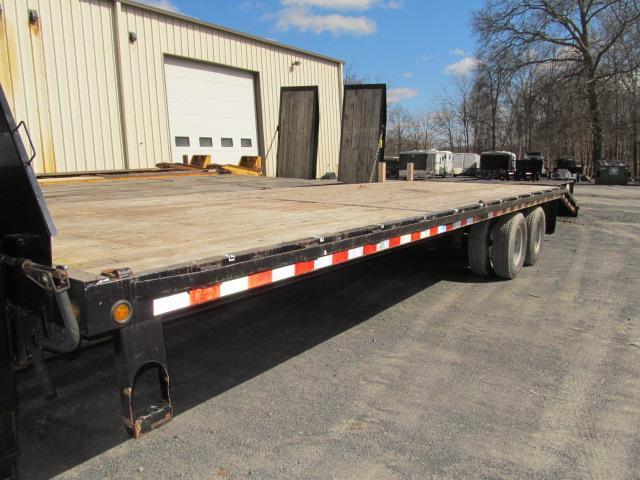 2014 Sure-Trac 10 Ton Gooseneck Equipment Trailer