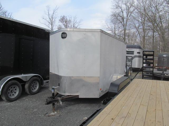 2016 Wells Cargo Fast Trac 6 x 12 Enclosed Cargo Trailer