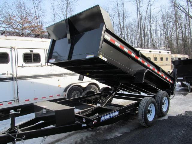 Sure-Trac Standard Duty 6 X 10 Low Profile Dump Trailer