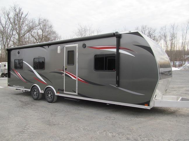 2017 ATC 8.5 X 28 Front Bedroom Toy Hauler