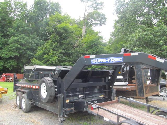 2014 Sure-Trac 7x16-14K GN Dump Trailer