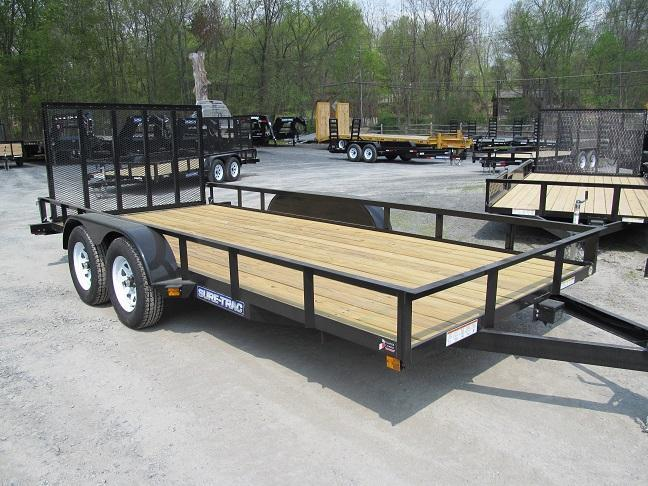 Sure-Trac Utility Angle Double Axle w/ Gate