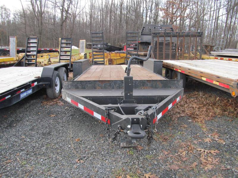 2003 Pequea 7x18 Equipment Trailer