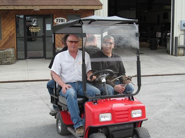 Cricket SX3 Electric Sport Vehicle Golf Cart