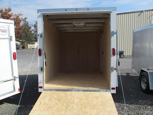 Aluminum Trailer Company Raven All Aluminum Single Axle Cargo / Enclosed Trailer