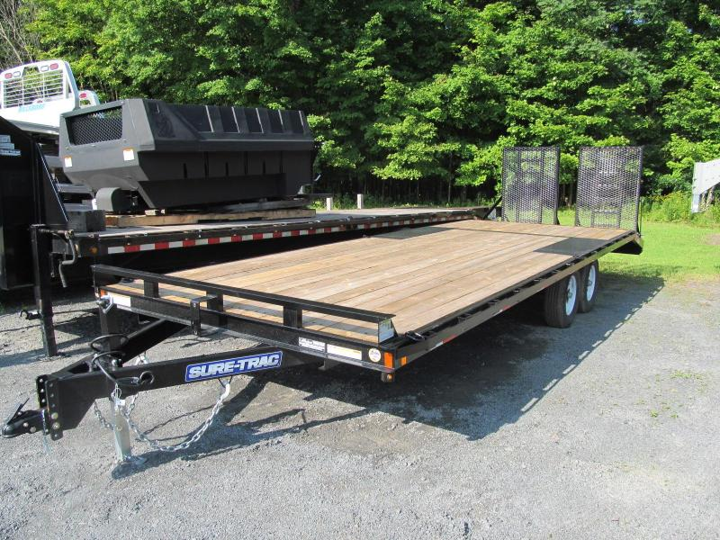 2019 Sure-Trac 8.5 X 24 Low Pro Deckover with Gates