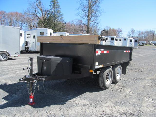 2015 Cross Country Manufacturing 6 x 10 10K Dump Dump Trailer