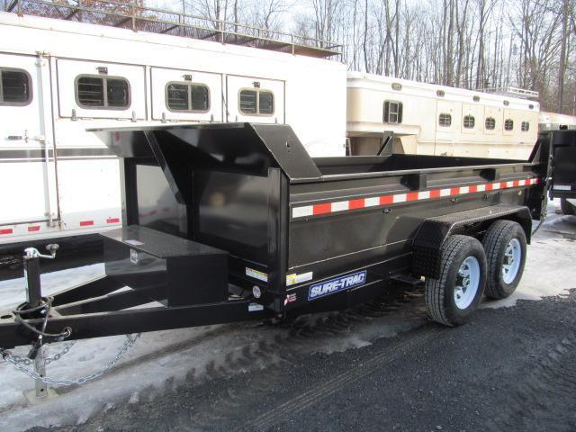 Sure-Trac Standard Duty 6 X 12 Low Profile Dump Trailer