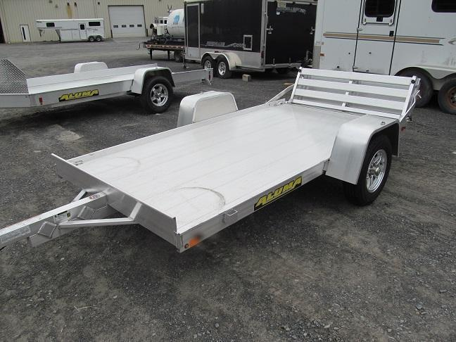 2020 Aluma 6310 Bi-fold Gate Utility Trailer