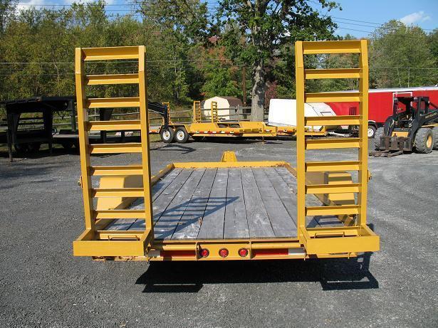 Winston 7 Ton BW Equipment Trailers