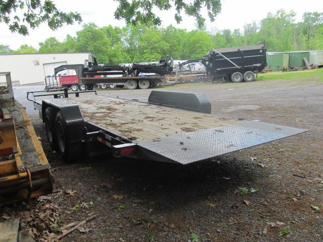 2018 Sure-Trac 7 X 18 plus 4 16K tilt Equipment Trailer