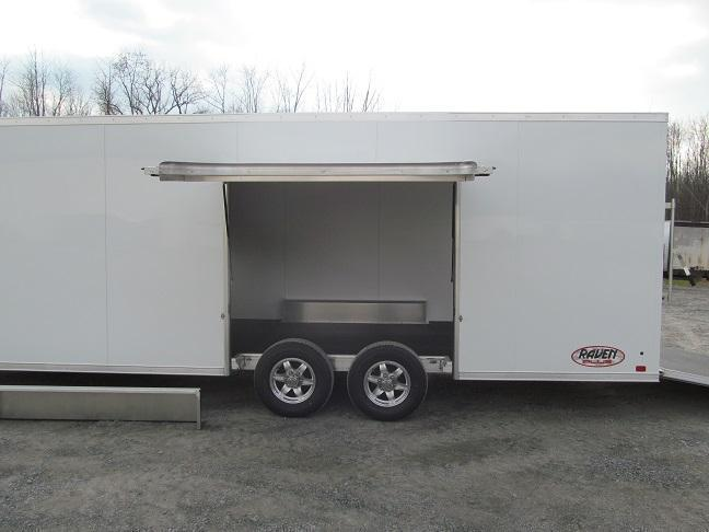 2018 Aluminum Trailer Company 8.5 X 24 CH Plus w/ Premium Escape Door